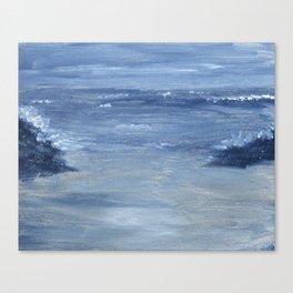 Monochromatic Seascape 1 Canvas Print