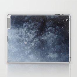 Blue veiled moon Laptop & iPad Skin
