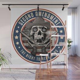 Second Amendment Wall Mural