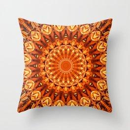 Mandala energy no. 2 Throw Pillow