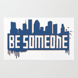 Be Someone - HTX - Navy Rug