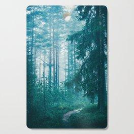Peer Through The Trees Cutting Board