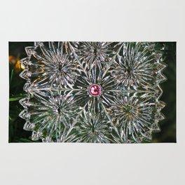 Snowcrystal Ornament 2016- vertical Rug
