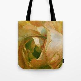 Floribunda Rose - Sun Bright Yellow Tote Bag