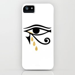 ALL SEEING CRY - Eye of Horus iPhone Case