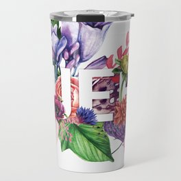 Queen Floral Travel Mug