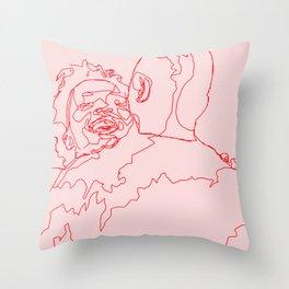 Meet Cute Throw Pillow