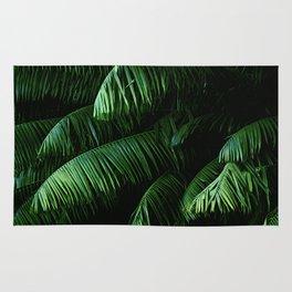 Lush green palms Rug