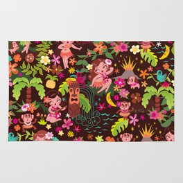 Hula Cuties Pattern Rug
