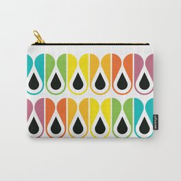 Geometric Pattern #120 (colorful loops) Carry-All Pouch