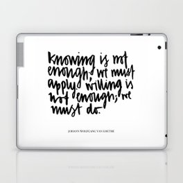 knowing is not enough Laptop & iPad Skin