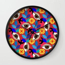 Tears Of Frida Wall Clock
