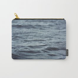 Carved Waves Carry-All Pouch