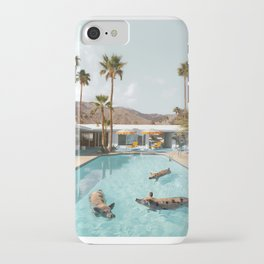 Pig Poolside Party iPhone Case