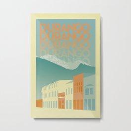 Durango Metal Print