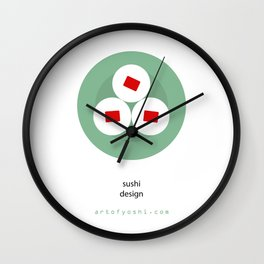 """""""food as art"""" Wall Clock"""
