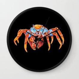 Sally Lightfoot Crab Wall Clock