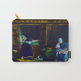 The Last Breath (after Jozef Israels) Carry-All Pouch