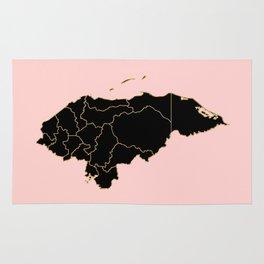 Honduras map Rug