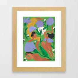 Midnight Summer Dreams Framed Art Print
