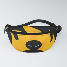 Flaming Anger Fanny Pack