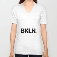 brooklyn V-neck T-shirts featuring Brooklyn by Action Zebra