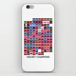 Hockey Champions iPhone Skin