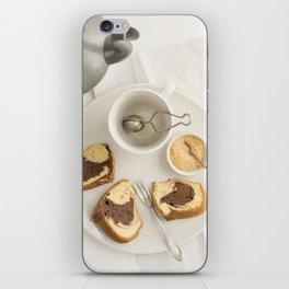 Slice of marble cake iPhone Skin