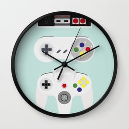 Video Game controller Wall Clock