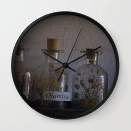 Bottles Wall Clock