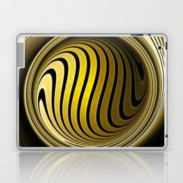 Turning into gold Laptop & iPad Skin