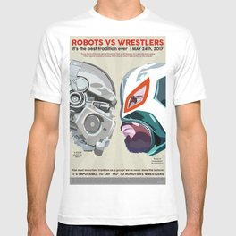 Robots vs. Wrestlers: The Best Tradition Ever T-shirt