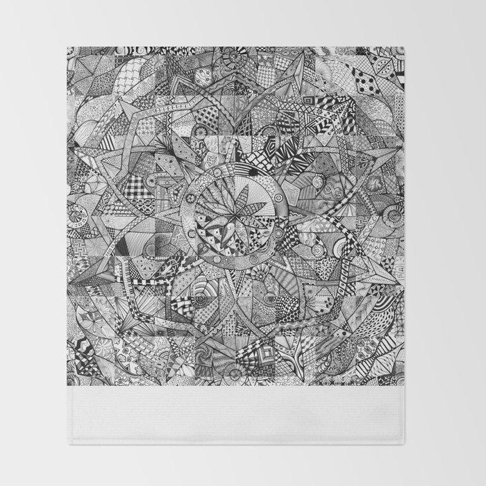 Mandala 6 Throw Blanket