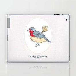 Haruki Murakami's The Wind-Up Bird Chronicle // Illustration of a Bird with a Wind-up Key in Pencil Laptop & iPad Skin