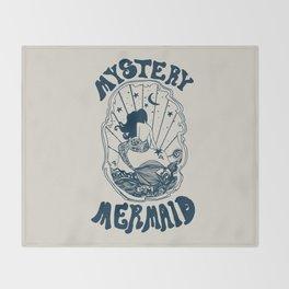 MYSTERY MERMAID Throw Blanket