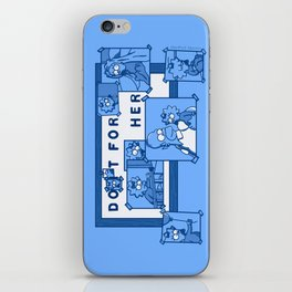 Do It For Her (Simpsons) iPhone Skin