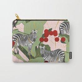 Zebra Harem #society6 #decor #buyart Carry-All Pouch