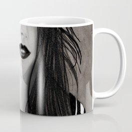 RETRATO EN TINTA CHINA Coffee Mug