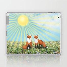 2 foxes Laptop & iPad Skin