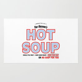SEINFELD - Yev Kassem's Hot Soup Rug