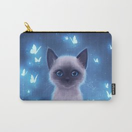 Siamese kitten Carry-All Pouch