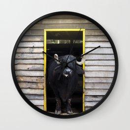 Bufalo Wall Clock