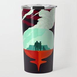 Vintage poster -Enceladus Travel Mug