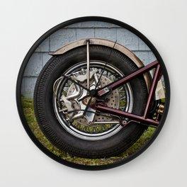Rear Tire Wall Clock