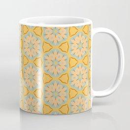 Sunshine Yellow Tribal Pattern Coffee Mug