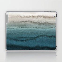WITHIN THE TIDES - CRASHING WAVES TEAL Laptop & iPad Skin