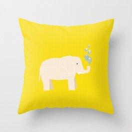 Magic Elephant II Throw Pillow
