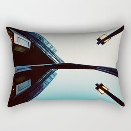 Endless Reflections.  Rectangular Pillow