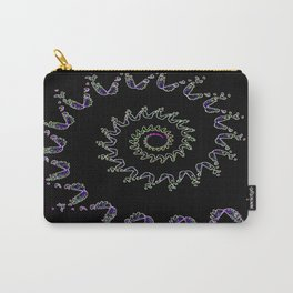 Nautilus Crystal Art Carry-All Pouch