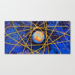 Earth Power Canvas Print